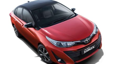 2019 Toyota Yaris Dual Tone