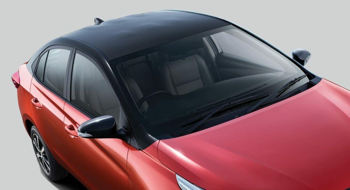 2019 Toyota Yaris Dual Tone Roof