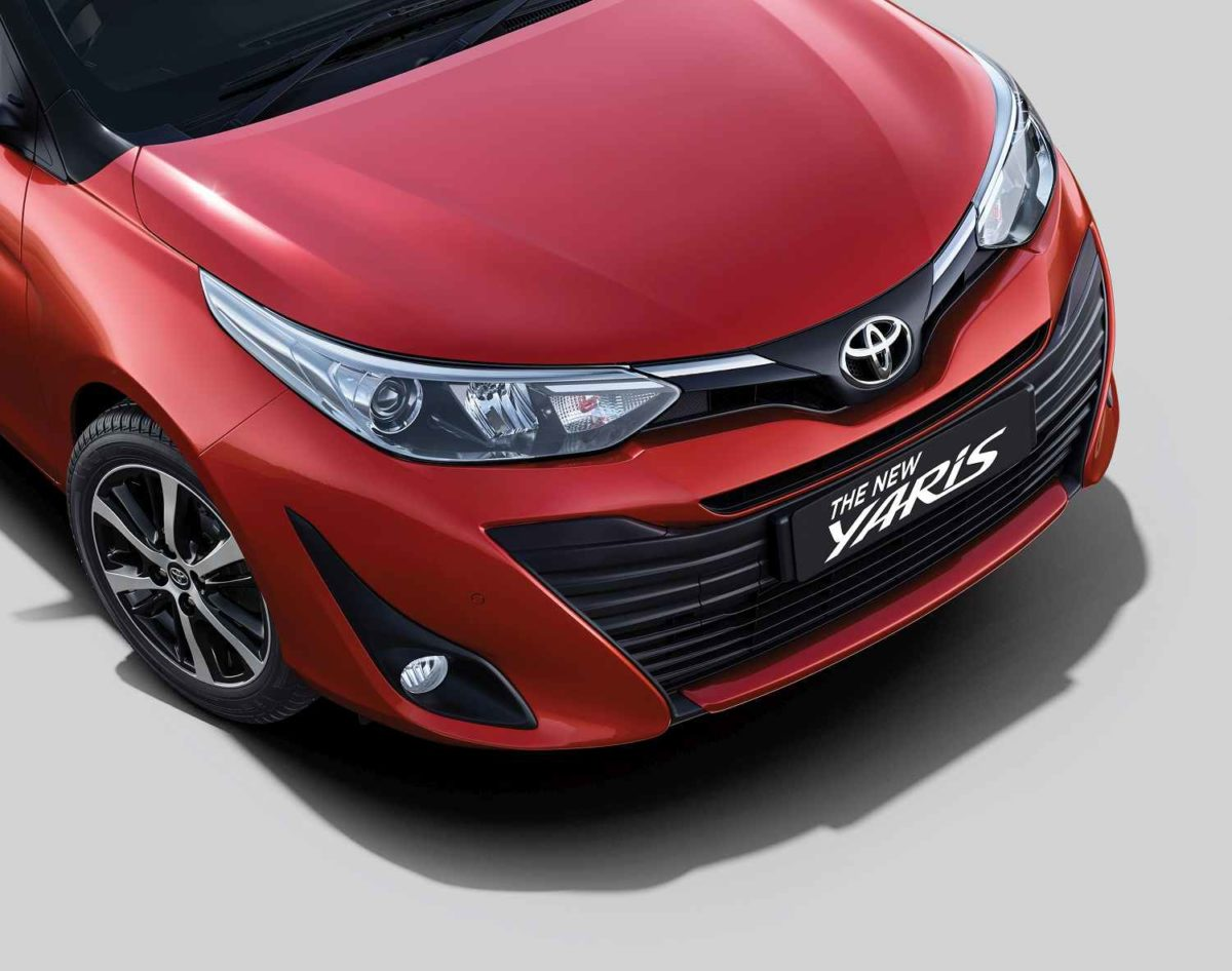 2019 Toyota Yaris front grille