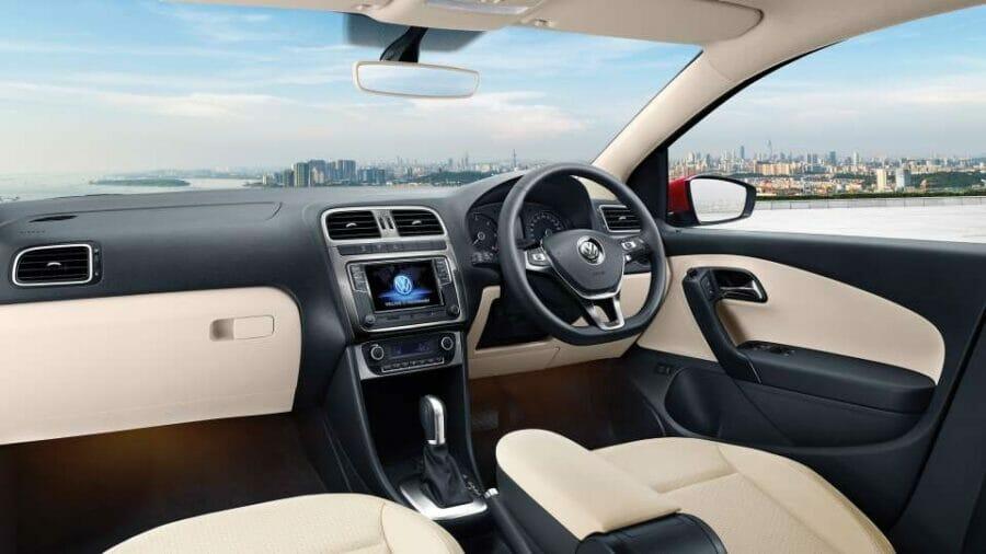 2019 Volkswagen Polo GT cabin