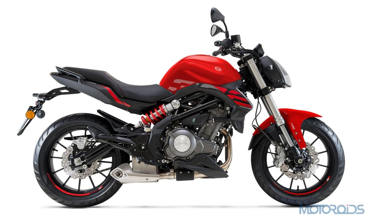 2020 Benelli 302S right red