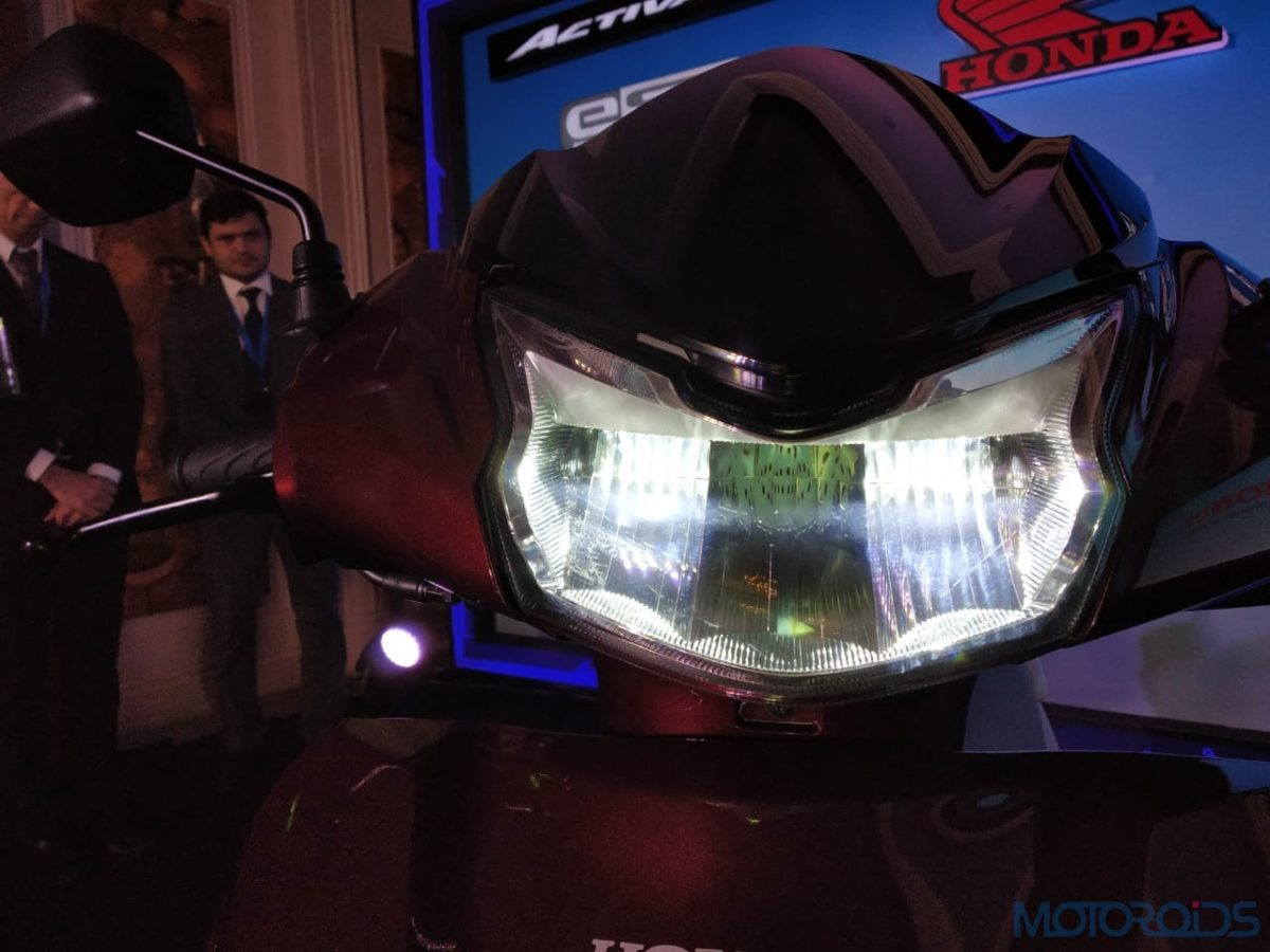 2020 Honda Activa 125 BS VI LED headlight