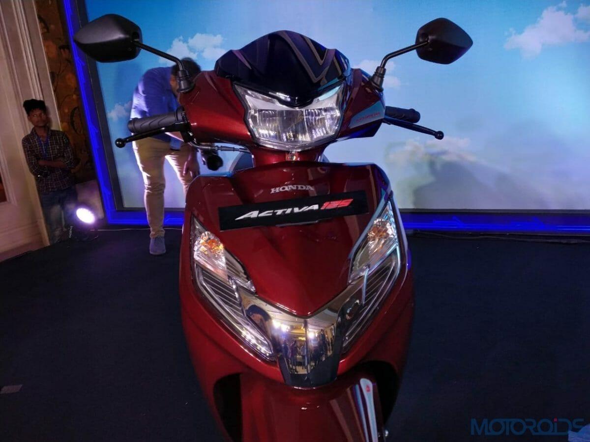 2020 Honda Activa 125 BS VI apron