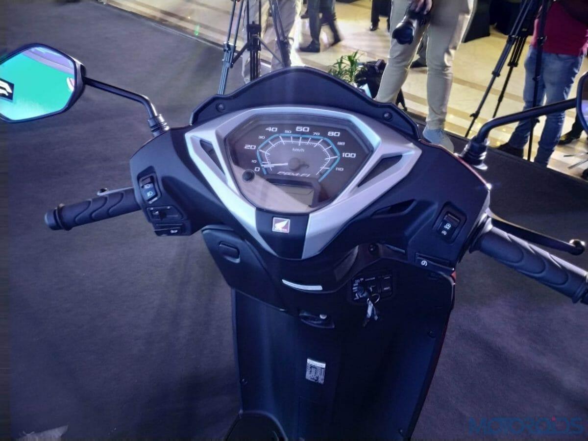 2020 Honda Activa 125 BS VI meter