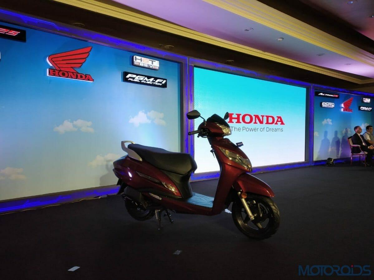 2020 Honda Active BS VI side profile