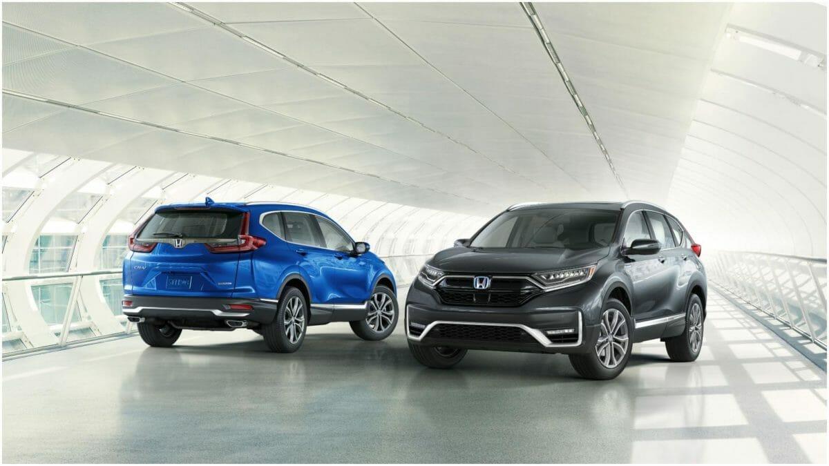2020 Honda CR V 3