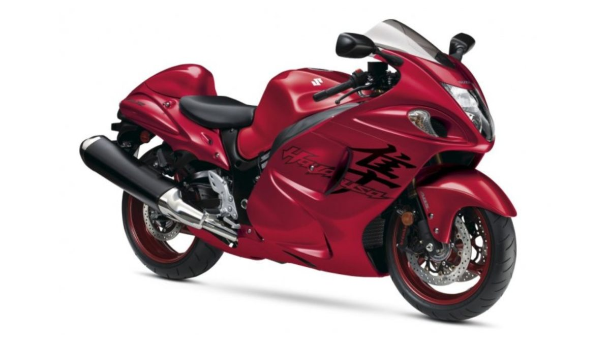 2020 Suzuki Hayabusa US market Candy Red