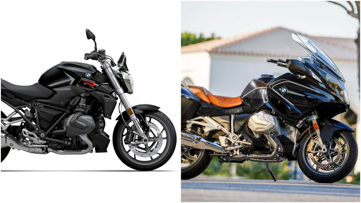 BMW R1250 R and R1250 RT