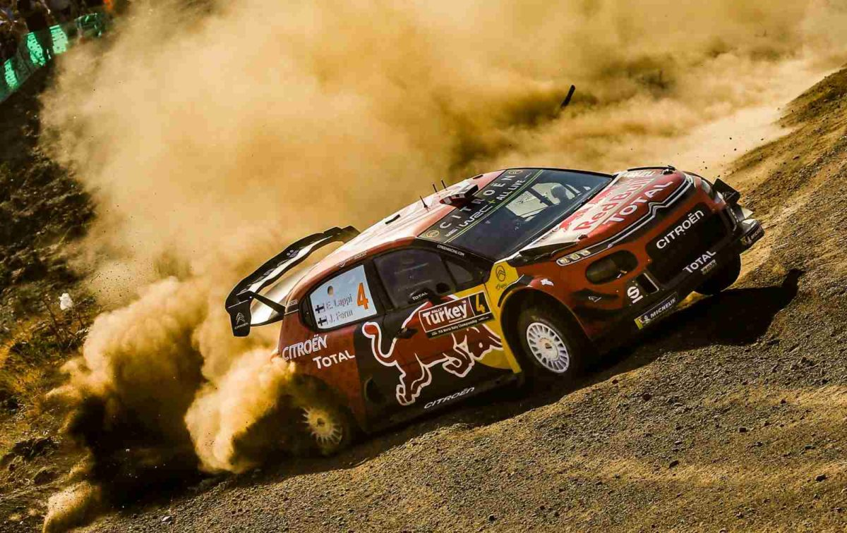 Citroen WRC Team Rally Of Turkey 2019
