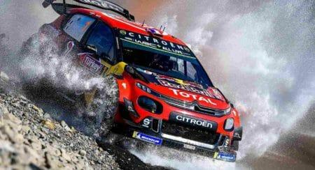 Citroen WRC Team Rally Of Turkey 2019 water crossing