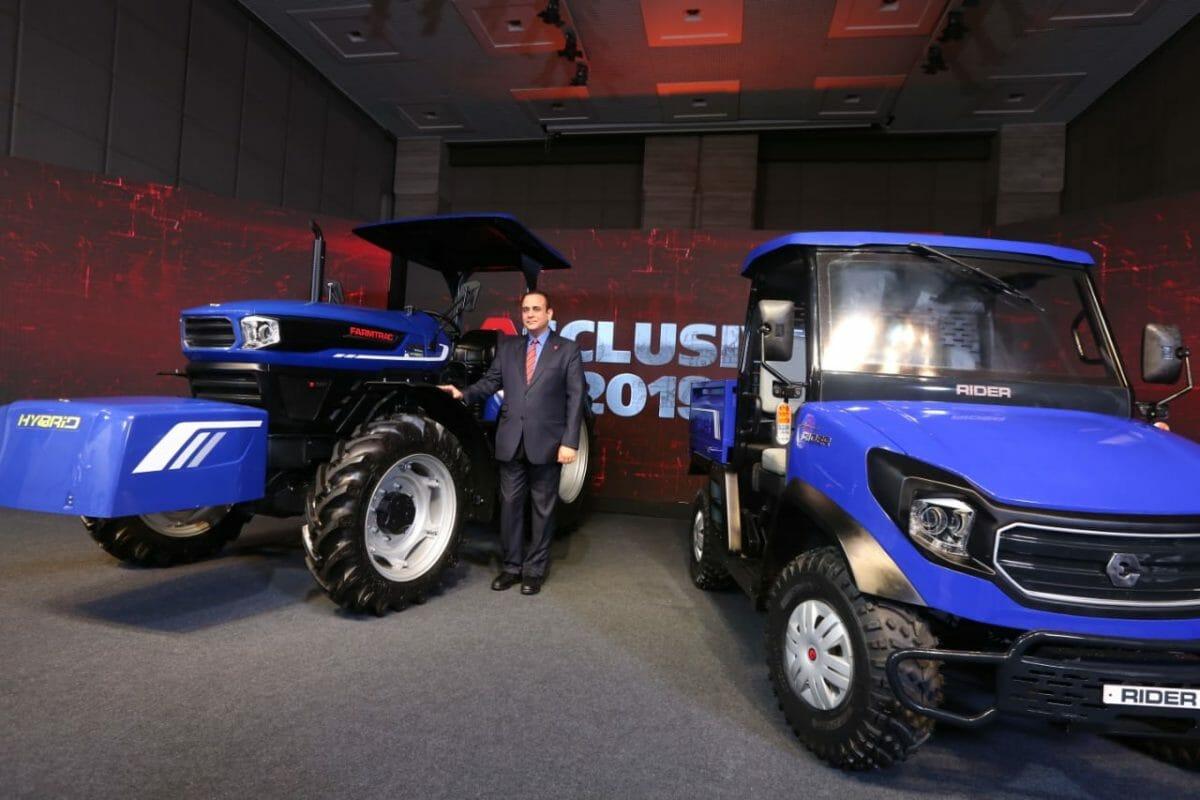 Escorts Hybrid Tractor