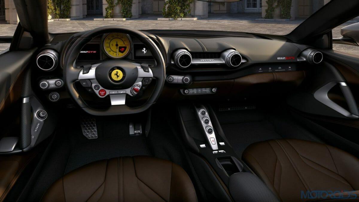 Ferrari 812 GTS Cockpit
