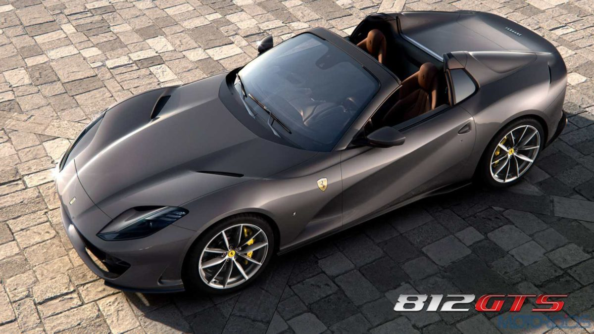 Ferrari 812 GTS Top