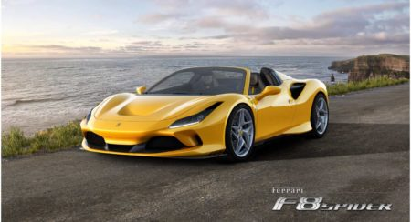 Ferrari F8 spider 4