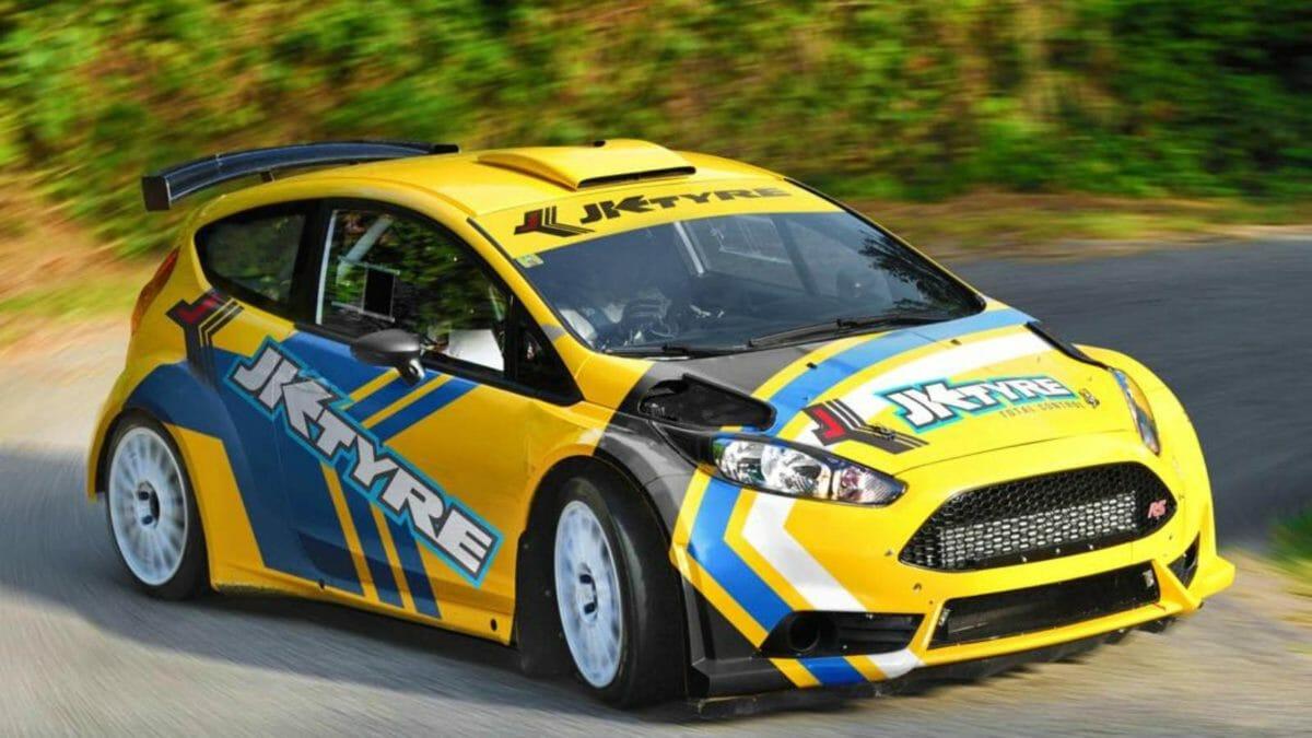 Gaurav Gill WRC2