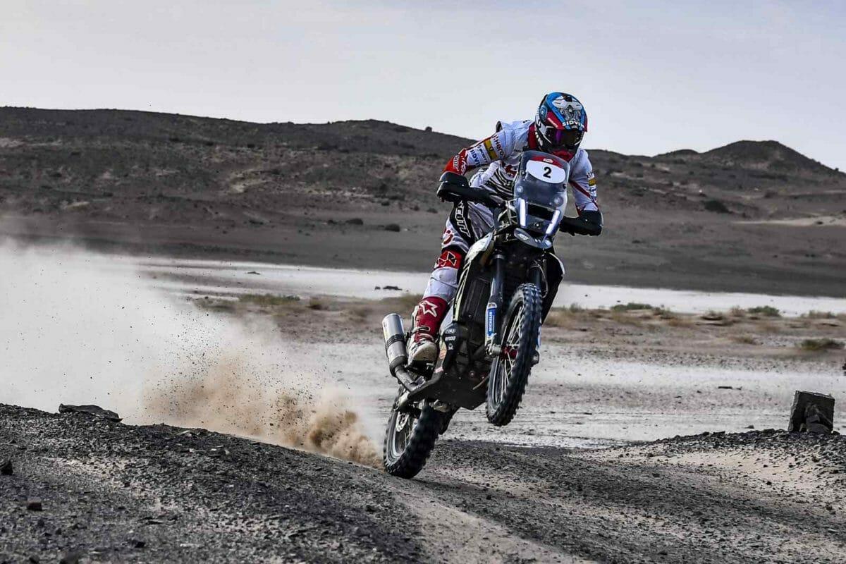 Hero MotoSports Team Rally rider, CS Santosh