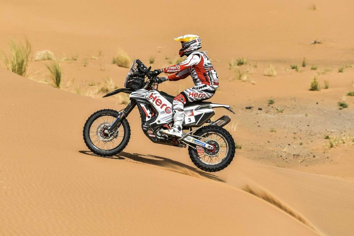 Hero MotoSports Team Rally rider, Joaquim Rodrigues