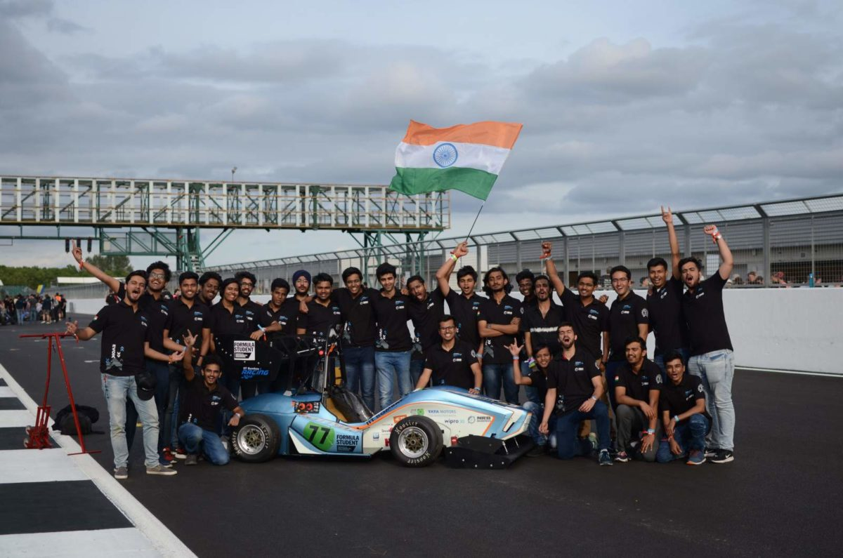 IIT Bombay Racing Team at Silverstone