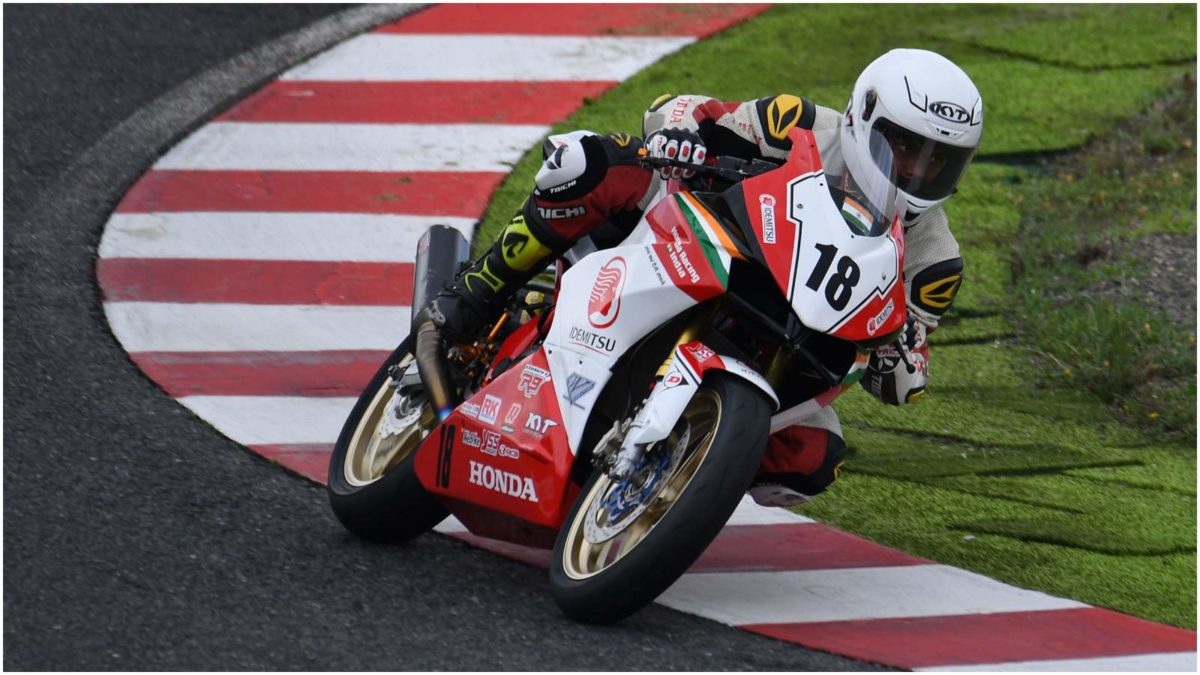 Idemitsu Honda Racing Team India 1