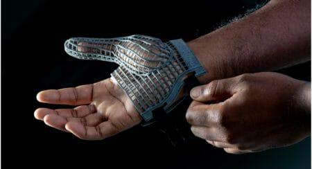 JLR 3D printed glove 2