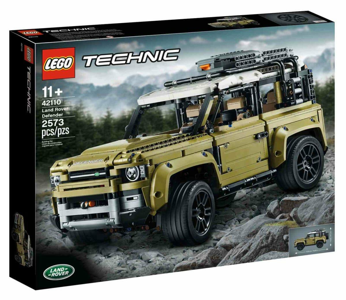 LEGO Land Rover Defender 2