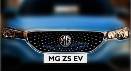 MG ZS EV teaser