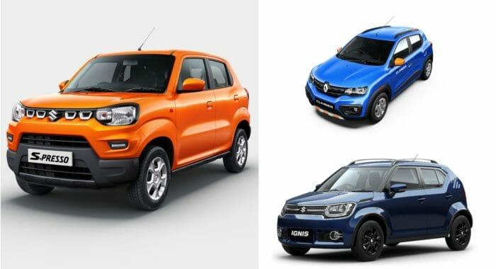 Crossover Vs Suv >> Maruti Suzuki S-Presso Vs Renault Kwid Climber Vs Maruti ...