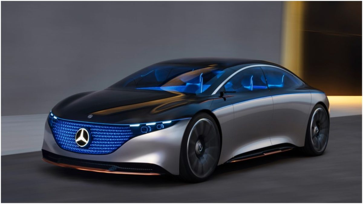 Mercedes Benz Vision EQS