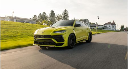 This Novitec Tuned Lamborghini Urus Is A Widebody Monster Producing Over 747 HP