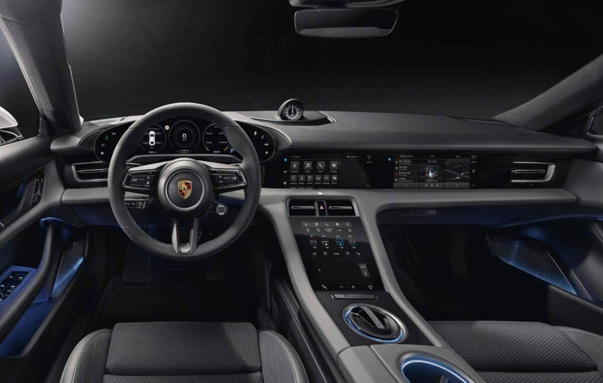 Porsche Taycan cabin