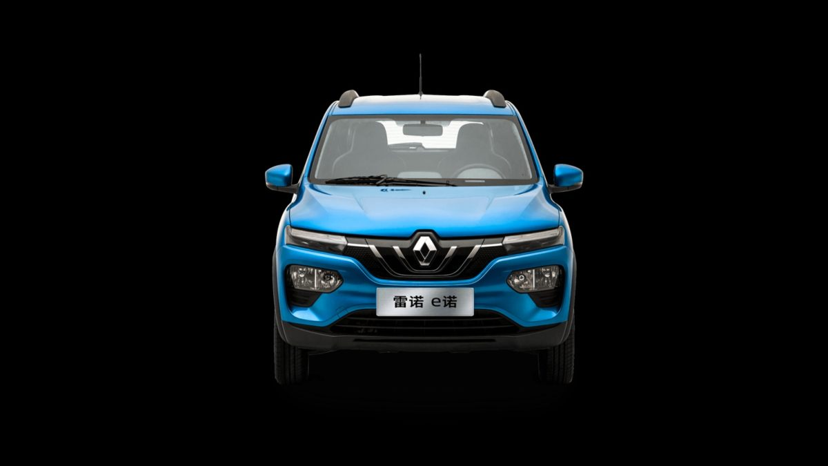 Renault Kwid Electric front