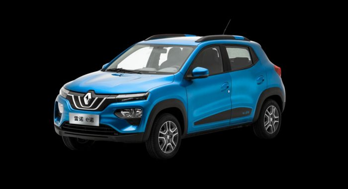 Renault Kwid K-ZE Electric Car : 271KM Range - EV Shift