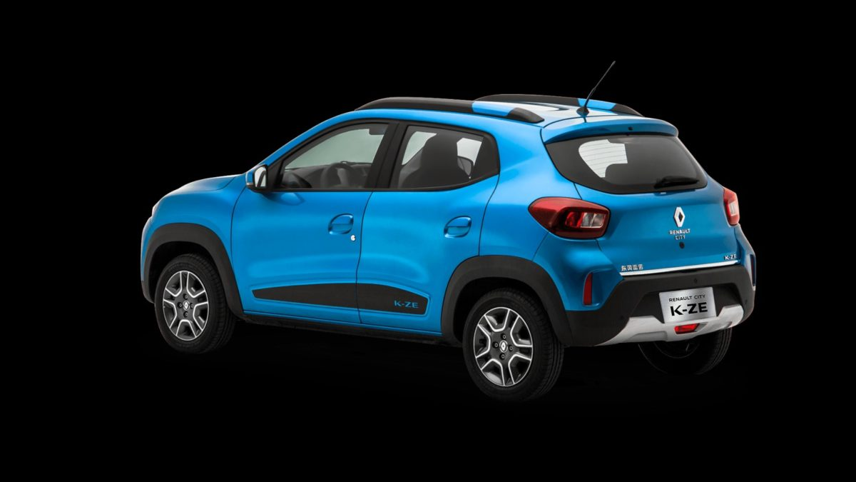 Renault Kwid Electric right rear