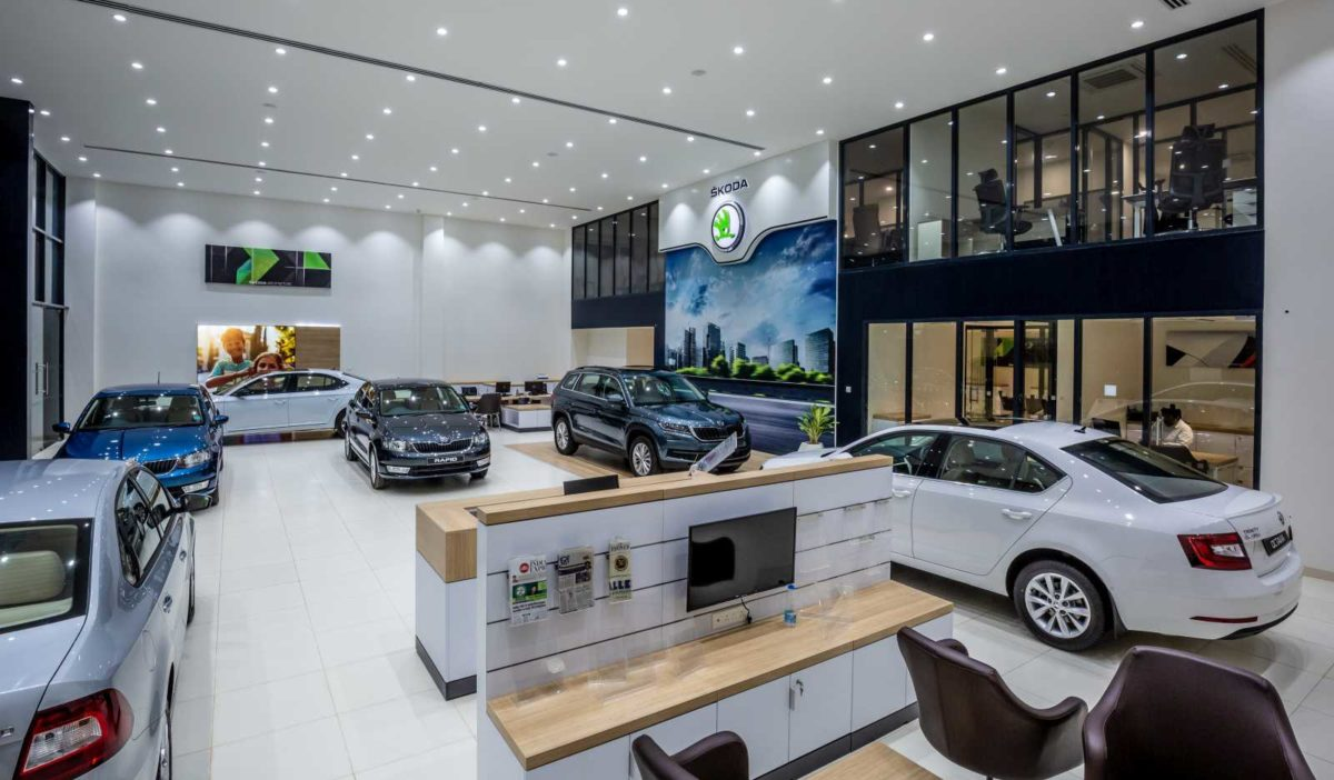 Skoda Auto India New Dealership Design overview