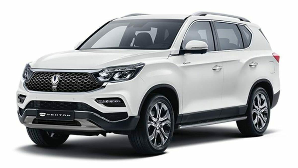 SsangYong Rexton G4 facelift front quarter