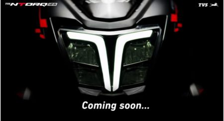 TVS headlight LED 2019