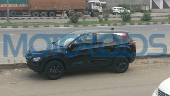 Tata Harrier Dark Edition side