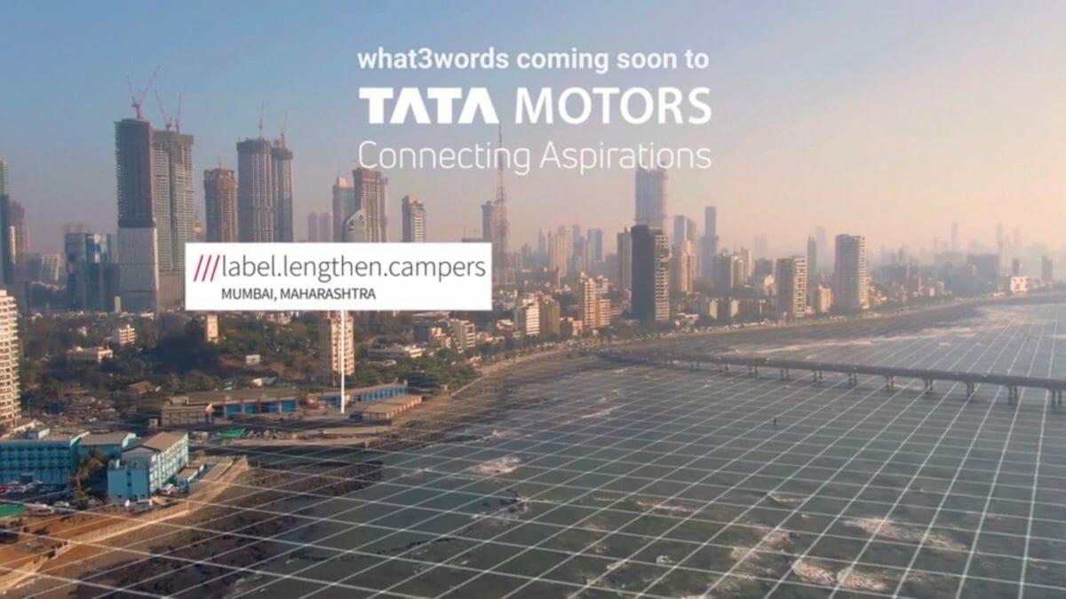 Tata Motors what3words