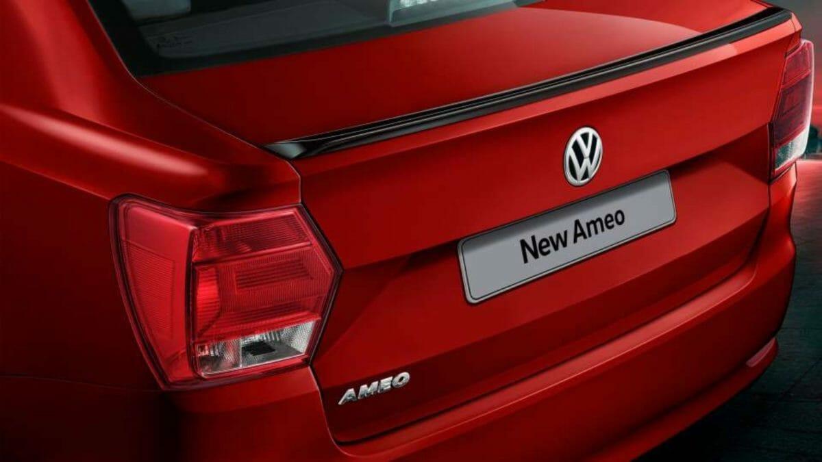 Volkswagen Ameo GT Line boot spoiler
