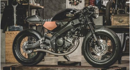 This Custom Yamaha XSR155 Is The Perfect Blend Of Style And Performance