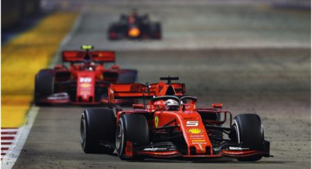 Singapore Grand Prix: Sebastian Vettel Claims His First Victory Of The Season