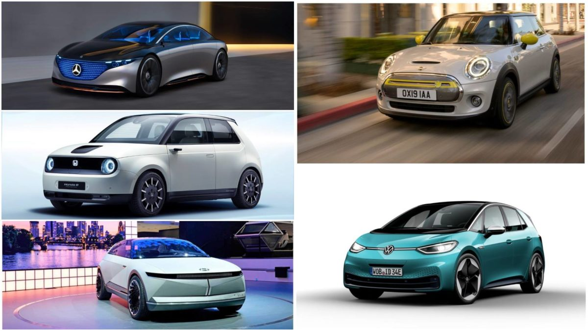 top 5 electric cars launched at the frankfurt international motor show