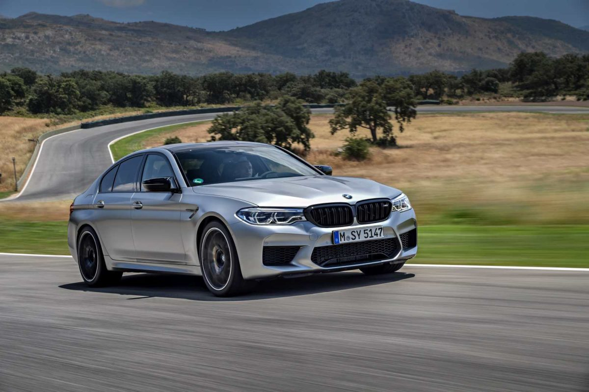 01 Image – The new BMW M5 Competition