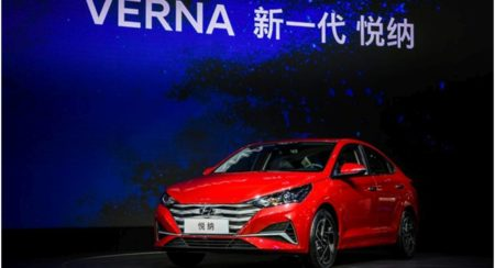 2020-Hyundai-Verna-Front