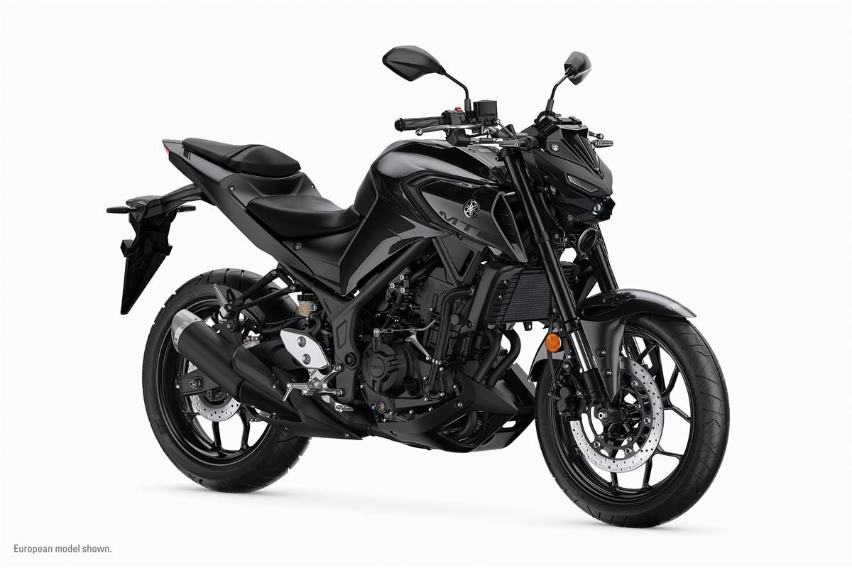 2020 yamaha MT 03 black