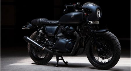 Eimor Customs' Latest Interceptor 650 Customization Project Is Called The Bomber