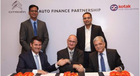 Citroen and Kotak partnership for finance