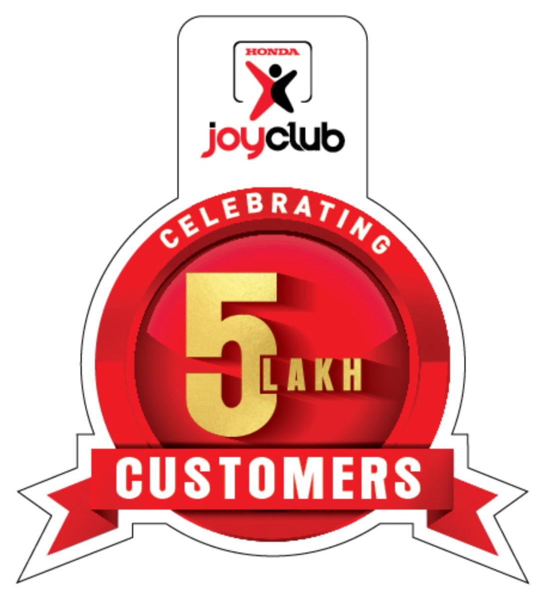 Honda 2Wheelers India celebrates the accomplishment of 5 Lakh members for 'Honda Joy Club'