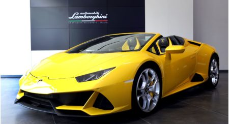 Lambo huracan evo spyder launch in india