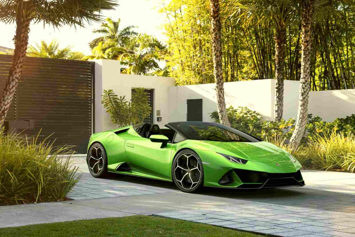 Lamborghini Huracan EVO Spyder ambient